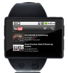 The Androidly Android Powered Smartwatch!