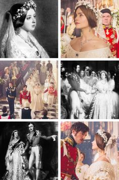 "Victoria's and Albert's Wedding Day: ""Real vs Reel."""