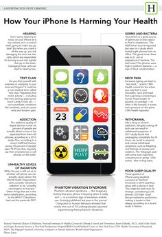 How Your iPhone Is Harming Your Health