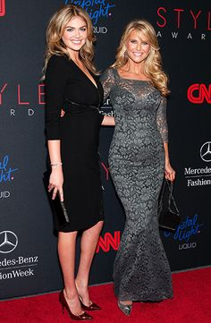 Kate Upton (age 22) & Christie Brinkley (age 60) - both gorgeous at any age!