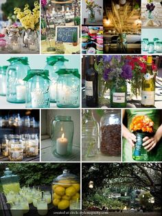 So many things to do with a Mason jar. Inexpensive & cute.