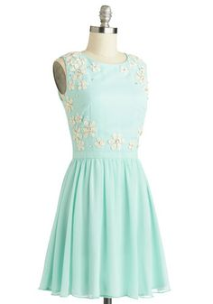Fashionably Afloat Dress, #ModCloth Love this dress. A fitness goal would be to be able to get this for Easter the biggest size it comes in is 14 and I'm a 16 or 18 now.