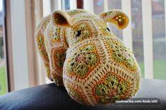 Afrikan Flower - Sretni Hippo