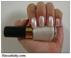 "Maybe :  ) Susie                                                         From the web ""Wedding nail polish. revlon pure pearl"""