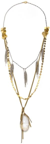 Capwell and Co multistrand necklace