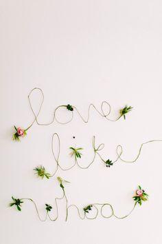 Love like woah! http://www.stylemepretty.com/living/2015/02/03/modern-valentines-day-inspired-party/ | Photography: To Wander and Seek - http://www.towanderandseek.com/