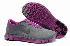 Nike Free Run 4.0 V2 Zapatillas para Mujer Cool Grises/Fireberry http://www.esnikerun.com/