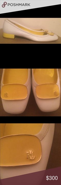 """NWT Ralph Lauren Geyla Nappa Espadrilles Very beautiful and comfortable leather shoes with 2"""" heels♣️ Ralph Lauren Shoes"""