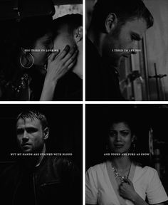Kala + Wolfgang: And I don't know how to hold on without staining you too. #sense8