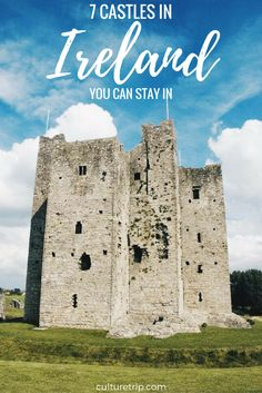 7 Castles In Ireland You Can Stay In by the Culture Trip Europe Travel Tips, Places To Travel, Places To Go, Traveling Tips, Travel List, Travel Destinations, Ireland Vacation, Ireland Travel, Places To Stay In Ireland
