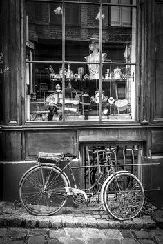 Honfleur bicyclette Honfleur, All Pictures, Photography, Bicycle Kick, Photograph, Fotografie, Photoshoot, Fotografia