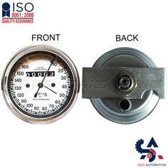 Smiths Replica Speedo Meter Speedometer 0-160 KMPH White For BSA - Saio