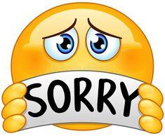 Emoticon with sorry sign vector illustration Sinais, Papo, Vetores, Textos Tristes, Smileys Animated Smiley Faces, Funny Emoji Faces, Emoticon Faces, Animated Emoticons, Funny Emoticons, Emoticons Text, Smiley Emoji, Emoji Images, Emoji Pictures