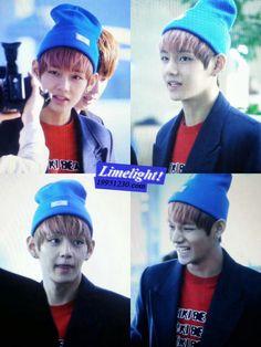 No really, he's too cute <3 #V #3rdBias #BTS #BangtanBoys #Cutie #Kpop