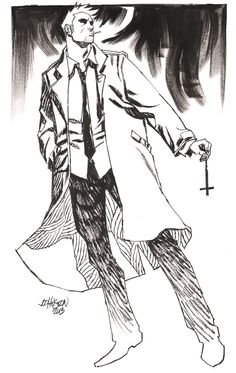 John Constantine by Dave Johnson