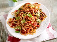 Spaghetti mit Hack-Tomaten-Soße