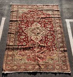 "Fine Hand Woven Anatolian Carpet, 6' 6"" x 9' 5"""