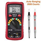 #USAshopping #7: Tacklife DM02A Digital Multimeter Auto-Ranging Multi Tester with Non Contact Voltage Test Volt Amp Ohm Meter with Diode…