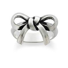 Bow Ring #jamesavery