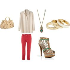 Cute Daytime Outfit, created by ajk23 on Polyvore