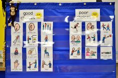 "Mrs. Riccas Kindergarten: Behavior Picture Sort {Freebie} to go with ""David Goes to School"""