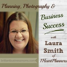 Learn from New Mom Entrepreneur Laura Smith of http://IHeartPlanners.com.  Laura makes a living designing and selling planners, planner kits, and blogging.  Hear her great tips on product photos, staying focused, and email newsletters.  @IHeartPlanners