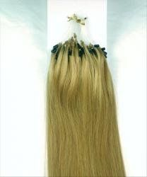 """20"""" Micro Link Loop Bead Rings 100% Remy Human Hair Extensions 200 Strands 100 Grams + Pulling Needle & Clamp Plier #12 Lightest Brown by MyLuxury1st. $279.00. QUESTIONS? CONTACT MYLUXURY1ST HAIR EXTENSIONS.  We are a small licensed business dedicated to you.  Make sure you are purchasing quality hair extensions shipped and sold by MyLuxury1st, if you need anything, questions, customized, ask us!  If we can do it, we will list it for you!"""