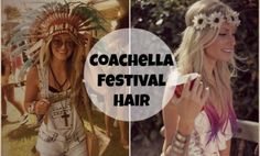 Let the countdown BEGIN! Is the time to start perfecting your outfits and looks for three days in the desert!!!! ARE YOU READY?! I been looking around for THE perfect and easiest hairstyles and tut....