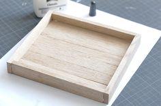 Ynas Design Blog, DIY Holztablett, Upcycling