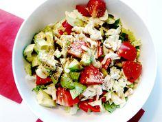 Asian Sesame & Avocado Salad .. Really satisfying, healthy salad!