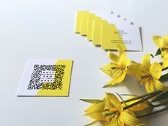 Business card ideas: Get inspired by beautiful business cards, like this one by Kultprosvet