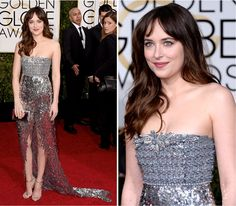 Golden Globe 2015: Dakota Johnson