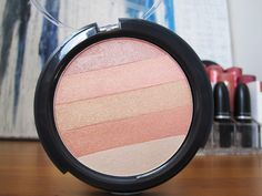 B. Glowing Shimmer Block in Just Peachy review