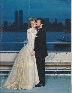 Christie Brinkley and Billy Joel married in 1985 Celebrity Wedding Photos, Celebrity Couples, Celebrity Weddings, Celebrity Dresses, Wedding Couples, Wedding Bride, Wedding Gowns, Wedding Stuff, Billy Joel Christie Brinkley