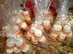 Candy corn guys for the bake sale