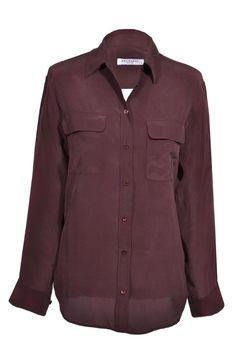 #Equipment #top #silk #fashion #designer #onlineshop #secondhand #clothes #mymint