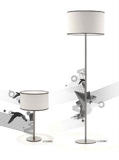 Villa Lumi - Table and floor lamps Quebec - Candeeiros de mesa e pé Quebec