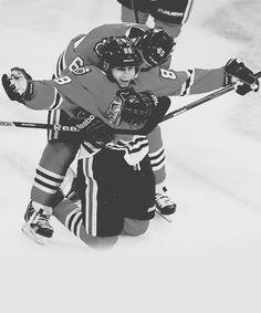 Patrick Kane and Andrew Shaw (credit: paulmara) Hockey Baby, Hockey Girls, Ice Hockey, Blackhawks Hockey, Chicago Blackhawks, Chicago Nfl, Andrew Shaw, Washington Capitals Hockey, Pittsburgh Penguins Hockey