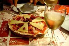 Jamon Serrano and Manchego cheese