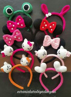 Crochet Fox Patterns Free and Paid - Page 2 of 4 Crochet Bows, Crochet Crafts, Crochet Yarn, Crochet Clothes, Crochet Projects, Crochet Fox Pattern Free, Crochet Headband Pattern, Crochet Patterns, Crochet Hair Accessories