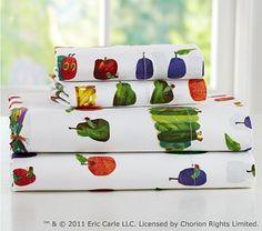 Eric Carle Nursery Toddler Sheet Set on potterybarnkids.com