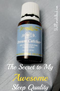 This is how I get high quality sleep (like the kind you could get before kids!) and wake up feeling rested and rejuvenated. It's my all-time favorite essential oil. A day in the life of an essential oil user.