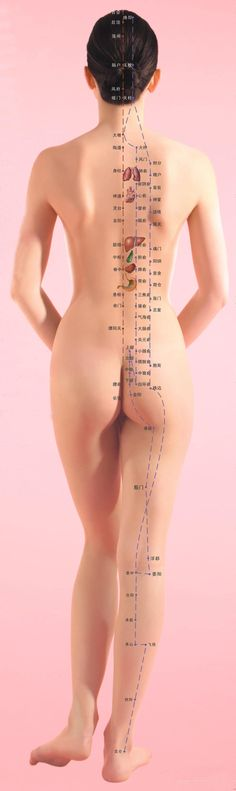 Chinese Medicine Meridian system can diagnose and treat imbalances.