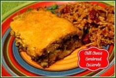 Sweet Tea and Cornbread: Chili Cheese Cornbread Casserole!