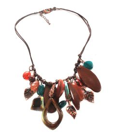 $15   Brown Charm Necklace