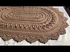 Doilies, Baby Knitting, Animal Print Rug, Pot Holders, Coasters, Mandala, Crochet Patterns, Youtube, Crochet Doily Rug