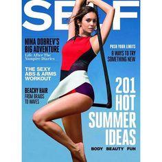 #NinaDobrev para Self Magazine - http://befamouss.forumfree.it/?t=70777724#