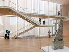 Art Institute Chicago Modern Wing #stairs