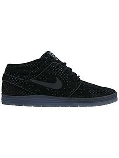 NIKE Mens Lunar Stefan Janoski Mid Flash BlackBlackClear 95 M US -- To view further for this item, visit the image link. (This is an affiliate link)