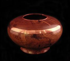 Mesquite with copper accent. Beautiful!  by my talented husband -- Paul Kendall, Mostly Mesquite    www.pkendall.com